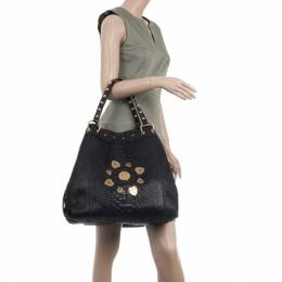 Gucci Limited Edition Large Jockey Python Hobo Bag 34258