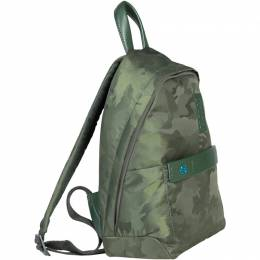 Piquadro Green Camouflage Nylon Backpack 252012