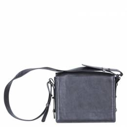 Stella McCartney Black Leather Flap Bag 182529
