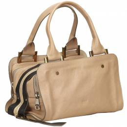 Chloe Beige Leather Dalston Everyday Bag