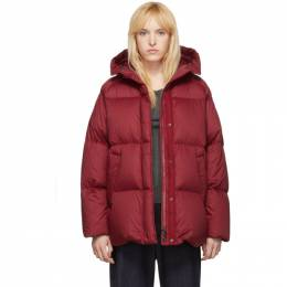 Moncler Red Down Nerum Jacket E20934681105V0041