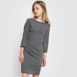 Платье-футляр с рисунком La Redoute Collections 13629263787727694000