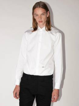 Lvr Exclusive Relaxed Dan Cotton Shirt Dsquared2 70IXCM002-MTAw0