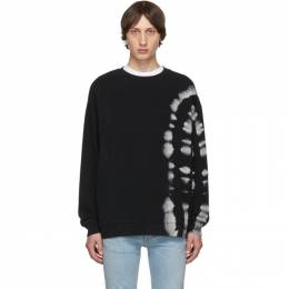 Marcelo Burlon County Of Milan Black County Tie-Dye Sweatshirt CMBA066E196300258810