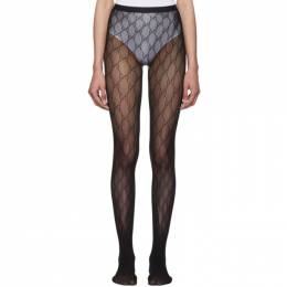 Gucci Black GG Tights 465727 3G245
