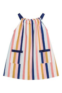 Платье в полоску Bonpoint 1210137914