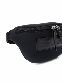 Dolce & Gabbana Kids - поясная сумка с нашивкой-логотипом 630AZ653959585980000