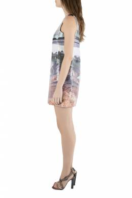 Mary Katrantzou Multicolor Lurex Insert Jacquard Desert Walker Sleeveless Lupin Dress S 203448