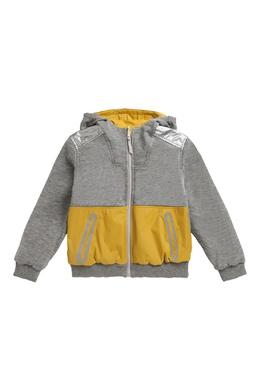 Двухцветная куртка Bonpoint 1210137956
