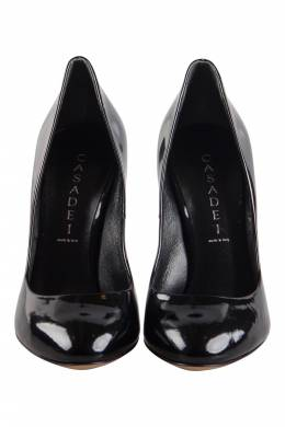 Casadei Black Patent Leather Pumps Size 37 204880