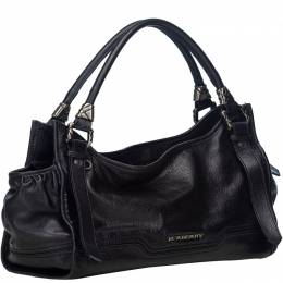 Burberry Black Leather Everyday Bag