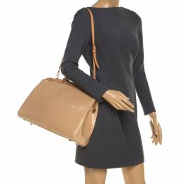 Louis Vuitton Rose Florentine Monogram Vernis Brea GM Bag 206244