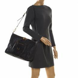 Louis Vuitton Black Empreinte Leather Lumineuse PM Bag 206029