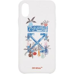 Off-White White Arrow iPhone X Case 192607F03201201GB