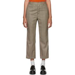 R13 Brown Tuxedo Trousers R13W7479-672