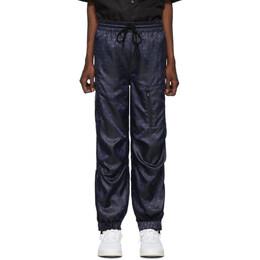 Alexander Wang Navy Monogram Lounge Pants 6WC2194039