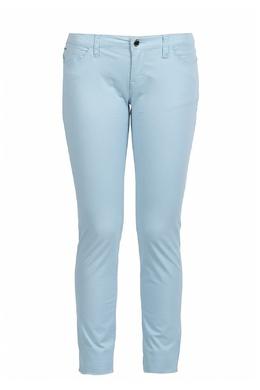 Голубые брюки Armani Jeans 1742139325