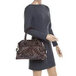 Louis Vuitton Damier Ebene Canvas Trevi PM Bag 200791