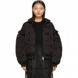 Moncler Genius 4 Moncler Simone Rocha Black Lace Down Jacket 45313 - 00 - C0335