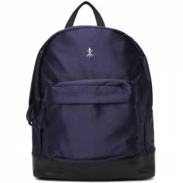 Opening Ceremony Navy Satin Classic Backpack PF19ZEF27002