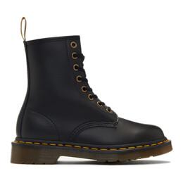 Dr. Martens Black Vegan 1460 Boots R14045001