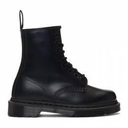 Dr. Martens Black 1460 Mono Lace-Up Boots R14353001