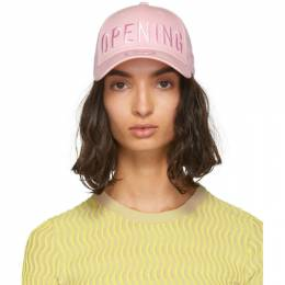 Opening Ceremony SSENSE Exclusive Pink New Era Edition 49Forty Logo Cap S18ZBN28014