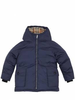 Нейлоновая Куртка С Капюшоном Burberry 70I91L005-QTE0NzQ1
