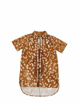 Рубашка Из Хлопка Поплин Burberry 70I91K033-QTcwNDA1
