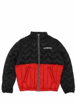 Куртка-бомбер Из Нейлона Burberry 70I91K004-QTExODk1
