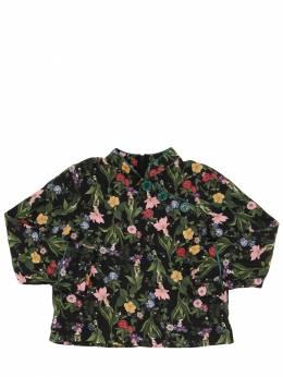 Рубашка Из Вискозной Фланели Vivetta 70IFFO026-NTI1