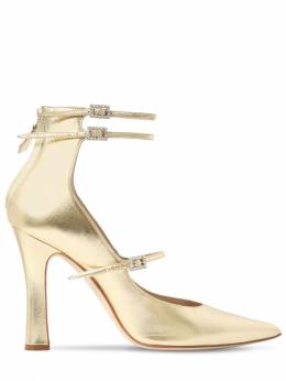 Кожаные Туфли 105мм Alessandra Rich 70IWPI005-MDMz0