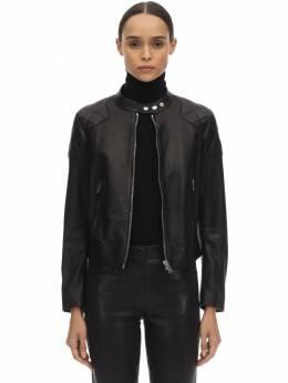 Байкерская Куртка Из Кожи Belstaff 70IWOR002-OTAwMDA1