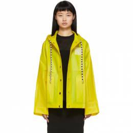 Proenza Schouler Yellow Care Label Rain Jacket WL1931097
