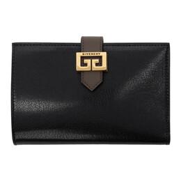 Givenchy Black Medium GV3 Wallet BB601GB056