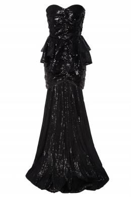 Асимметричное коктейльное платье с пайетками Attico 1869140062