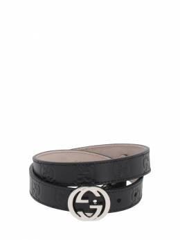 Кожаный Ремень Gucci 70IFHA052-MTAwMA2