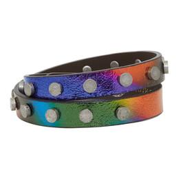 Faith Connexion Multicolor Leather Bracelet X8115A00018