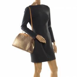 Louis Vuitton Beige Poudre Monogram Vernis Brea MM Bag 207948