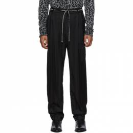 Saint Laurent Black Tailoring Jogger Trousers 583275Y033V