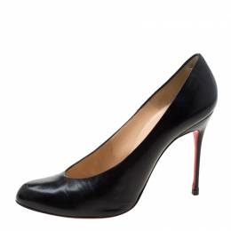 Christian Louboutin Black Leather Pumps Size 39.5