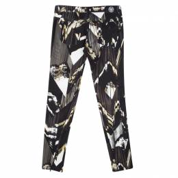 Kenzo Jungle Multicolor Abstract Printed Denim Skinny Jeans M 121379