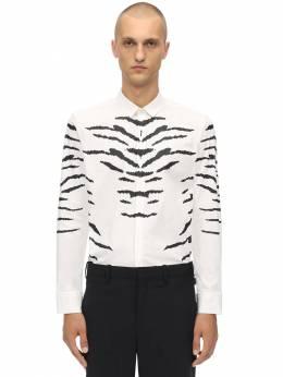 Рубашка Из Хлопка Стретч Neil Barrett 70I05I036-MDY50