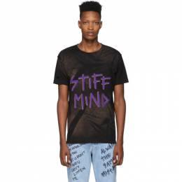 Faith Connexion Black NTMB Bleach T-Shirt X3711JNTMBB