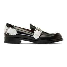 Christian Louboutin Black Monmoc Flat Loafers 3190584