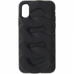 Versace Black Chain Reaction iPhone X Case 192404M15300301GB