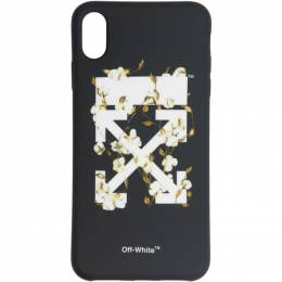 Off-White Black Cotton Arrows iPhone XS Max Case 192607F03200801GB