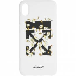 Off-White White Cotton Arrows iPhone XS Max Case 192607F03200901GB