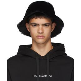 Dolce&Gabbana Black Star King Bucket Hat 192003M13900301GB