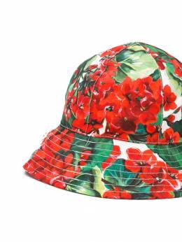 Dolce & Gabbana Kids - шляпа с цветочным принтом H58HS5CLHAV639595095